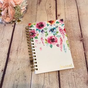 Floral Spiral Journal